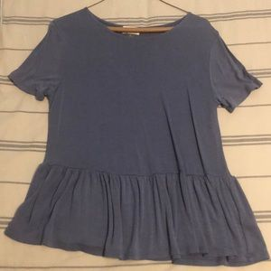 Size small blue old navy top